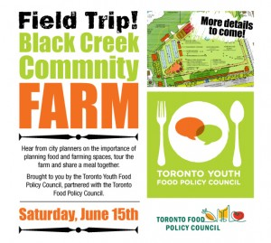 Field Trip to Black Creek Community Farm poster
