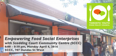 "Banner for ""Empowering Food Social Enterprises"""